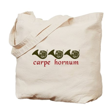 Carpe Hornum Tote Bag