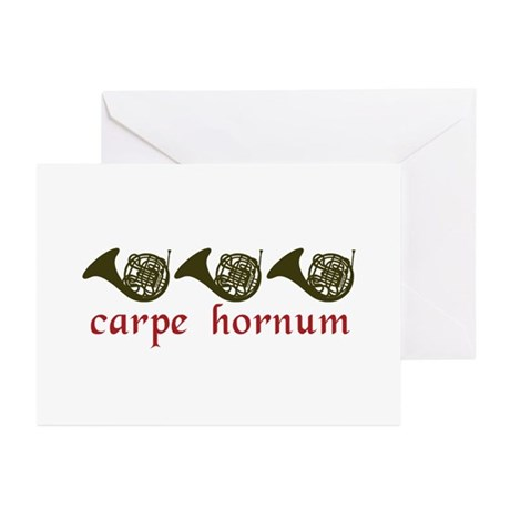 Carpe Hornum Greeting Cards (Pk of 20)