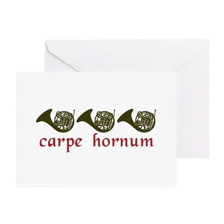 Carpe Hornum Greeting Card