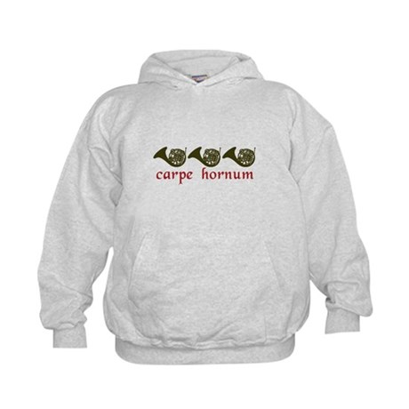 Carpe Hornum Kids Hoodie