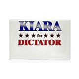 KIARA for dictator Rectangle Magnet