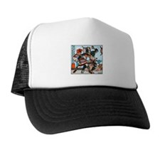 Beowulf and Grendel Trucker Hat