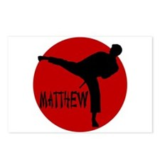 Matthew Martial Artist Postcards (Package of 8)