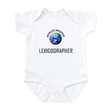 World's Greatest LEXICOGRAPHER Infant Bodysuit