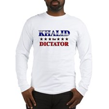 KHALID for dictator Long Sleeve T-Shirt