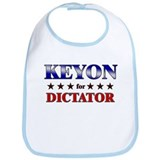 KEYON for dictator Bib