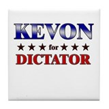 KEVON for dictator Tile Coaster