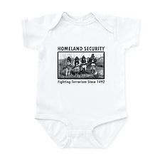 Homeland Security Indians Infant Bodysuit