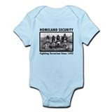Homeland Security Indians Onesie