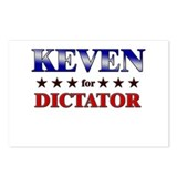 KEVEN for dictator Postcards (Package of 8)