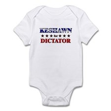 KESHAWN for dictator Infant Bodysuit