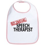Bilingual Speech Therapist Bib