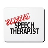 Bilingual Speech Therapist Mousepad
