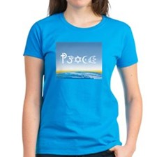 Peace-OM on earth Day Tee