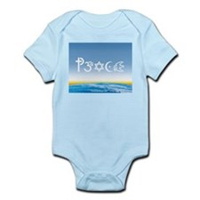 Peace-OM on earth Day Infant Bodysuit