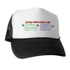 Scottish Terrier Property Laws 2 Trucker Hat