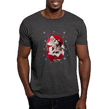 Saber:Santa's Helper Adult T-Shirt