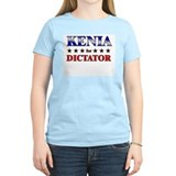 KENIA for dictator T-Shirt