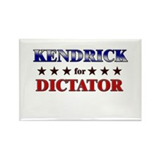 KENDRICK for dictator Rectangle Magnet (10 pack)