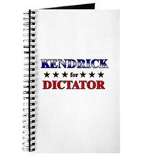 KENDRICK for dictator Journal