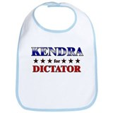 KENDRA for dictator Bib