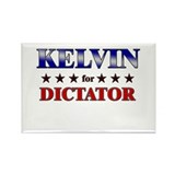 KELVIN for dictator Rectangle Magnet