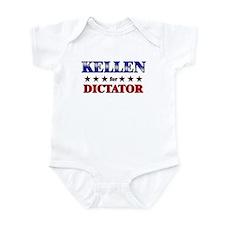 KELLEN for dictator Infant Bodysuit