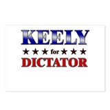 KEELY for dictator Postcards (Package of 8)