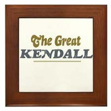 Kendall Framed Tile