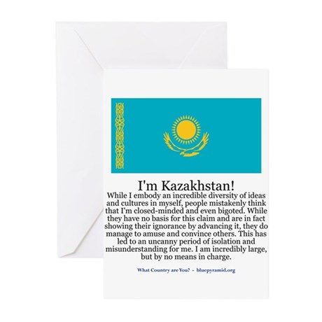 Kazakhstan Greeting Cards (Pk of 10)