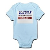 KAYLI for dictator Onesie
