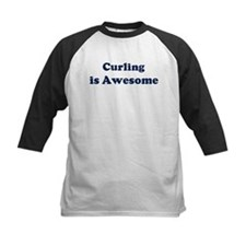 Curling is Awesome Tee