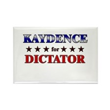 KAYDENCE for dictator Rectangle Magnet