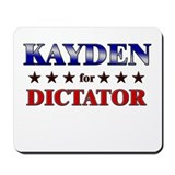 KAYDEN for dictator Mousepad