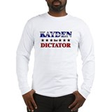 KAYDEN for dictator Long Sleeve T-Shirt