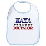 KAYA for dictator Bib