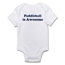 Paddleball is Awesome Infant Bodysuit