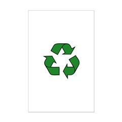 Recycle Symbol Posters