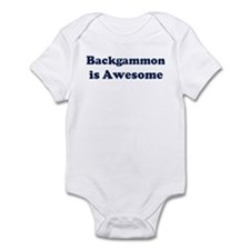Backgammon is Awesome Infant Bodysuit