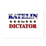 KATELIN for dictator Postcards (Package of 8)