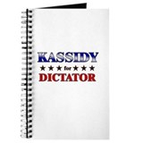 KASSIDY for dictator Journal