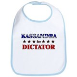KASSANDRA for dictator Bib