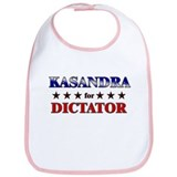KASANDRA for dictator Bib
