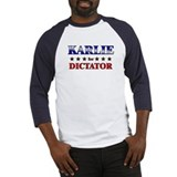 KARLIE for dictator Baseball Jersey
