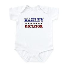 KARLEY for dictator Infant Bodysuit