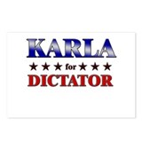 KARLA for dictator Postcards (Package of 8)