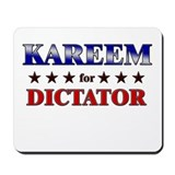 KAREEM for dictator Mousepad