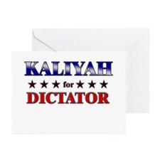 KALIYAH for dictator Greeting Cards (Pk of 20)