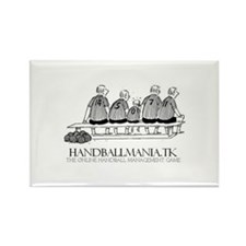 Handballmania Rectangle Magnet