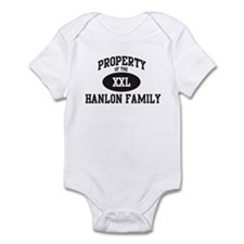 Property of Hanlon Family Infant Bodysuit